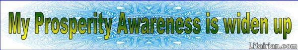Prosperity Awareness