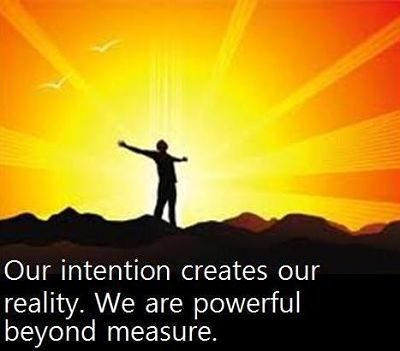 Intention–Key To Magic And Manifestation-Intention And VK