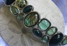 Abalone Stone to Clear Fear, Sorrow and Negative Emotions