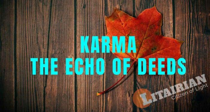 Release Karma Echo Deeds Theory Yoga