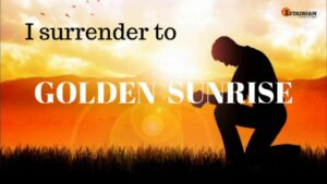 golden sunrise mantra